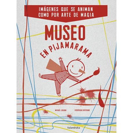 museo en pijamarama libro juego kalandraka