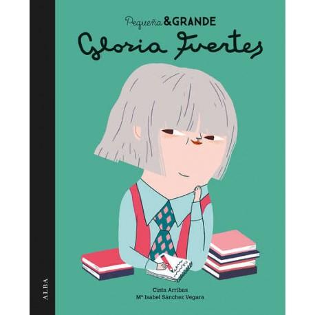 GLORIA FUERTES PEQUENA Y GRANDE Alba Portada Libro
