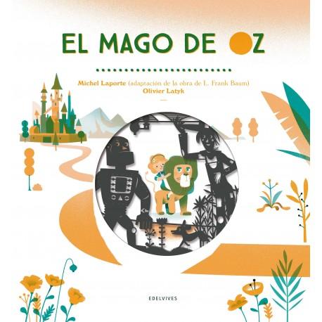 EL MAGO DE OZ ADAPTACION LIBRO TROQUELADO Edelvives Portada Libro