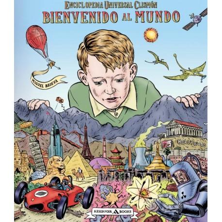 BIENVENIDO AL MUNDO Miguel Brieva Reservoir Books Portada Libro