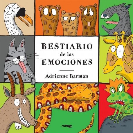 BESTIARIO DE LAS EMOCIONES Libros del Zorro Rojo Portada Libro