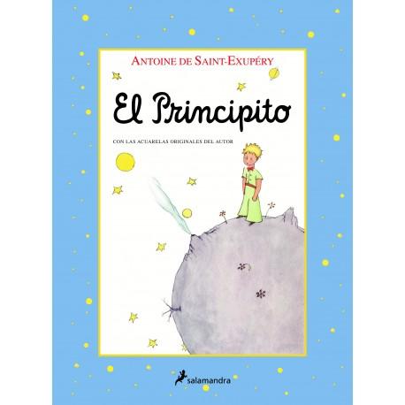 EL PRINCIPITO ACUARELAS Salamandra Portada Libro