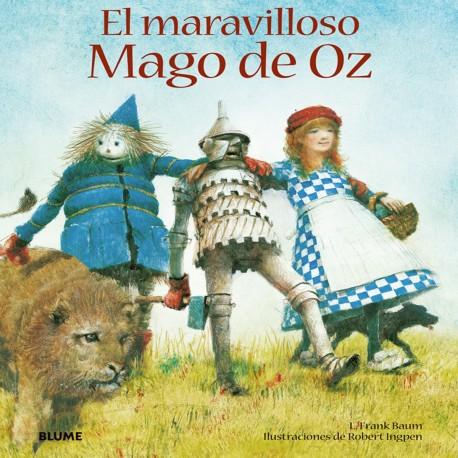 EL MARAVILLOSO MAGO DE OZ Blume Portada Libro