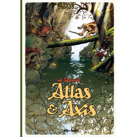 LA SAGA DE ATLAS Y AXIS 1 Dibbuks Portada Libro