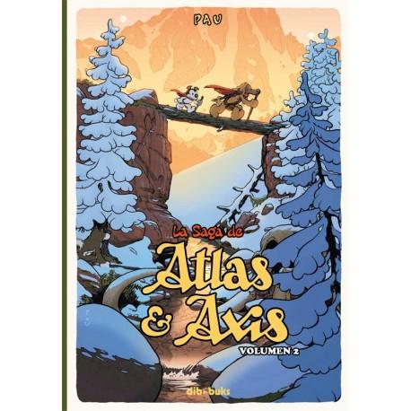 LA SAGA DE ATLAS Y AXIS 2 PAU Dibbuks Portada Libro