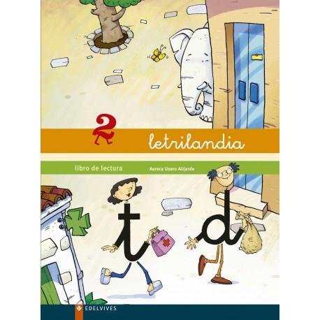 LETRILANDIA LIBRO DE LECTURA 2 EDELVIVES