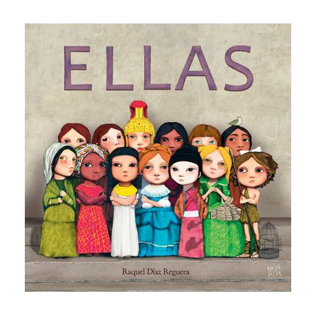 ELLAS Libro Album Raquel Diaz Reguera