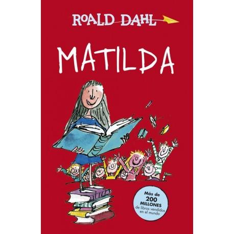 MATILDA Roald Dahl Portada Libro