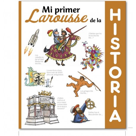 MI PRIMER LAROUSSE DE HISTORIA Portada Libro