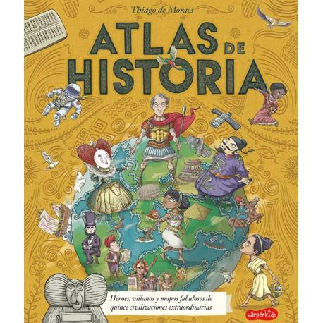 ATLAS DE HISTORIA Harper Collins