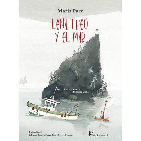 LENA THEO Y EL MAR LIBRO
