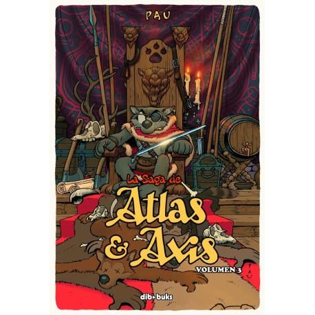SAGA DE ATLAS & AXIS 3 DIBBUKS RAYUELAINFANCIA