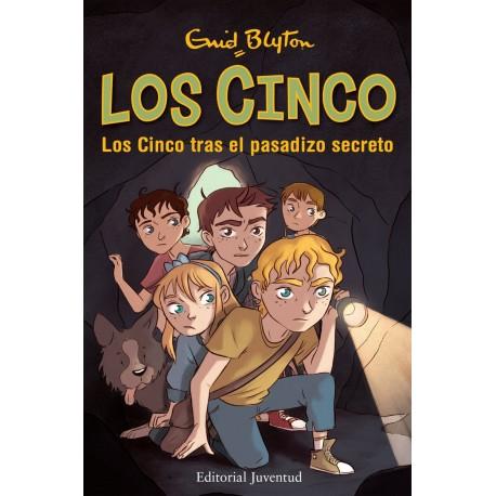 LOS CINCO TRAS EL PASADIZO SECRETO Juventud Portada Libro