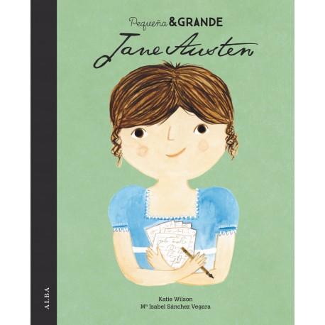 JANE AUSTEN PEQUENA Y GRANDE ALBA Portada Libro