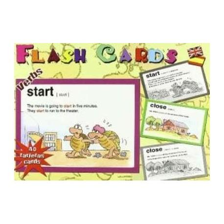 FLASH CARDS INGLES VERBOS VILLACELI