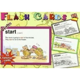 FLASH CARDS VERBOS