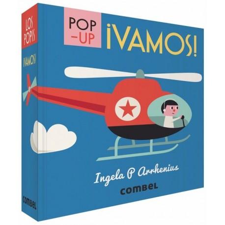 VAMOS POP UP COMBEL MEDIO DE TRANSPORTE