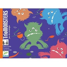TRIO MONSTERS JUEGO DE CARTAS