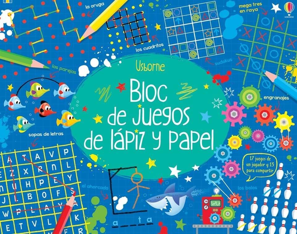 Bloc De Juegos De Lapiz Y Papel Rayuelainfancia