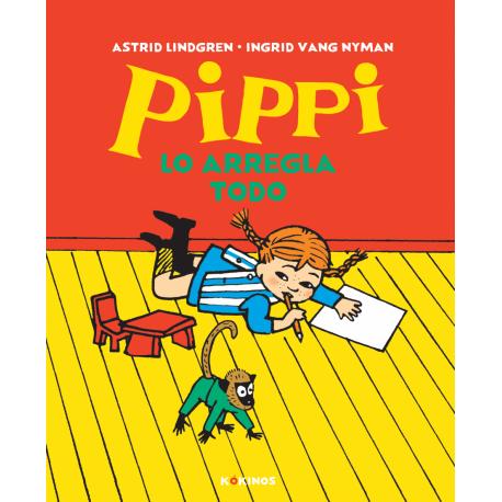 PIPPI LO ARREGLA TODO COMIC