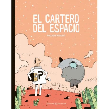 el cartero del espacio comic para ninos juventud portada