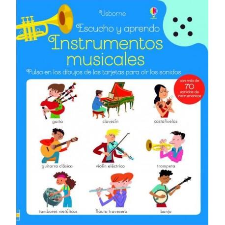 INSTRUMENTOS MUSICALES escucho y aprendo libro sonoro usborne