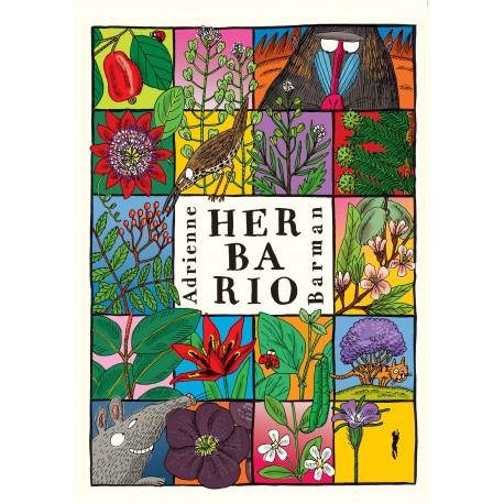HERBARIO Adrienne Barman Libros del Zorro Rojo Portada Libro
