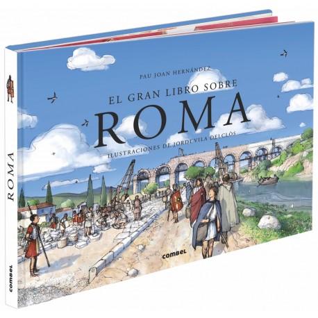 ROMA Libro Juego Interactivo Combel Portada Libro