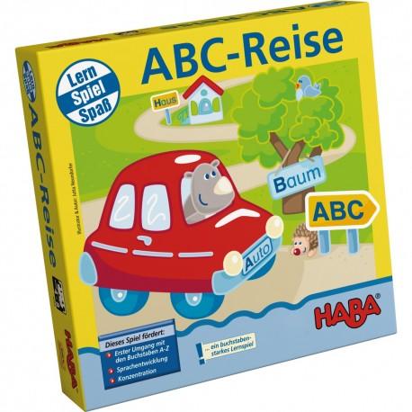 ABC-REISE Haba Juego para Aprender Aleman