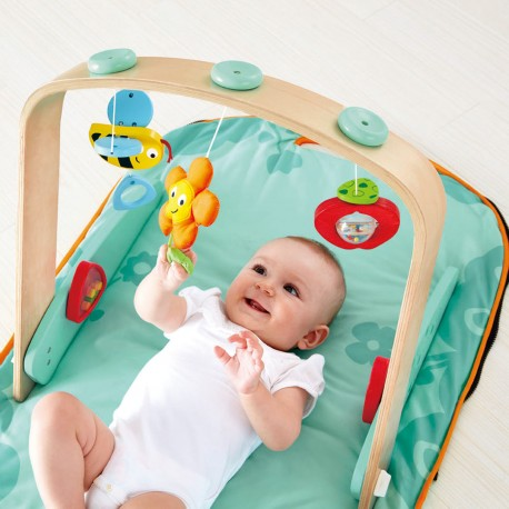 MANTA DE JUEGOS PORTATIL Portable Baby Gym Hape