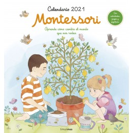 CALENDARIO DE PARED MONTESSORI 2021