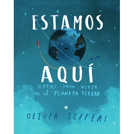 ESTAMOS AQUI Oliver Jeffers Andana Editorial Portada Libro