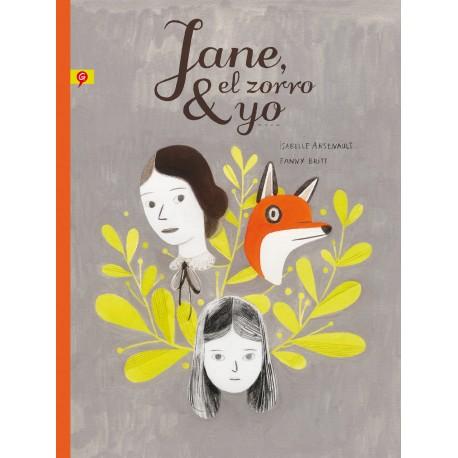 JANE EL ZORRO Y YO Novela Grafica Sobre el Acoso Escolar Salamandra