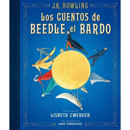 LOS CUENTOS DE BEEDLE EL BARDO EDICION ILUSTRADA Salamandra