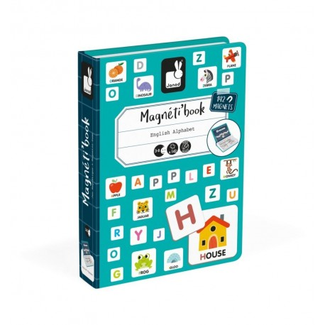 MAGNETIBOOK ENGLISH ALPHABET Janod