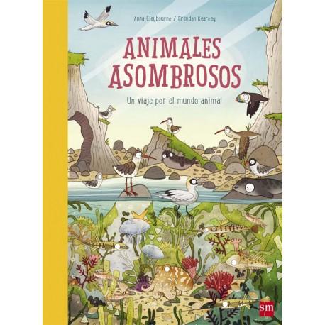 ANIMALES ASOMBROSOS SM Portada Libro