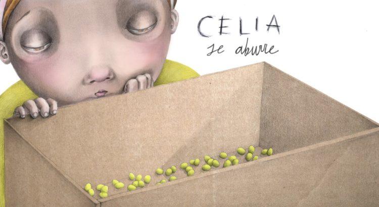 Celia se aburre Encuentro con la ilustradora y cuentacuentos con Carloco