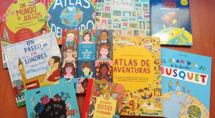ATLAS Y LIBROS DE VIAJE PARA NIÑOS
