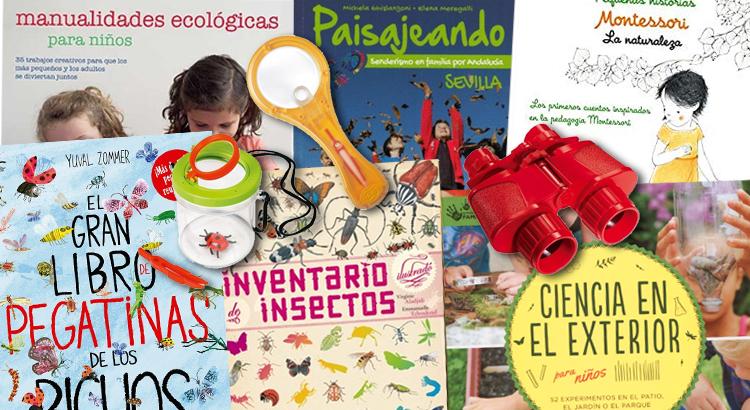 10 LIBROS Y JUEGOS PARA DISFRUTAR DE LA NATURALEZA CON NIÑOS