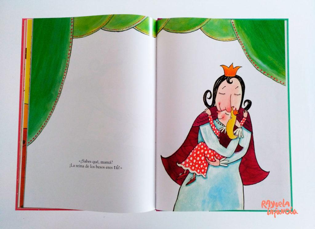 La reina de los besos de la editorial corimbo Álbum ilustrado