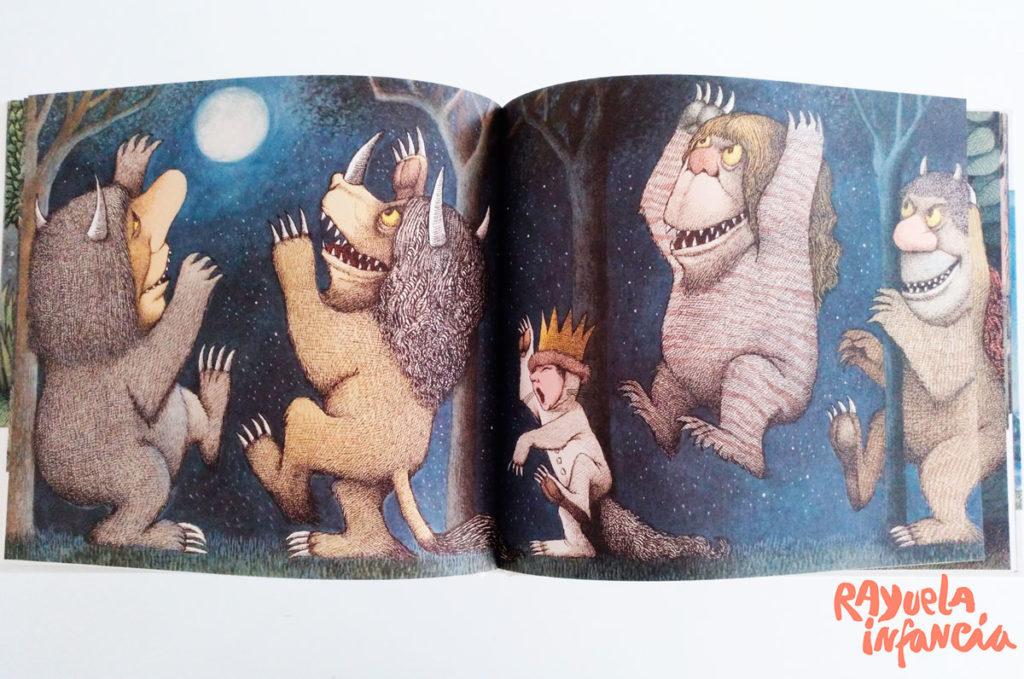 Donde viven los monstruos de Kalandraka Álbum Ilustrado