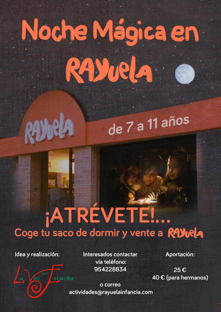 Noche Mágica en Rayuela Sábado 19 de Octubre de 2019