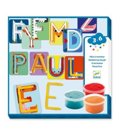 Letras con plastilina. Un juego manipulativo para aprender lectoescritura