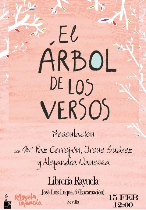 """Presentación del libro de poesía para niños """"El árbol de los versos"""""""
