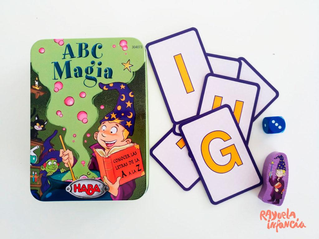 ABC Magia, tres juegos para aprender el abecedario e introducir la lectoescritura.