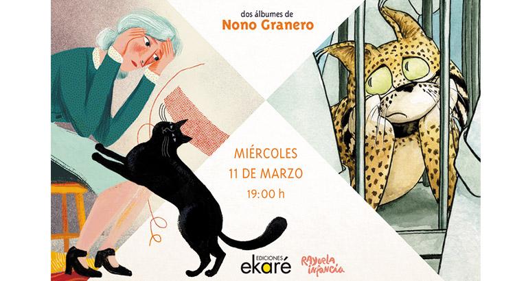 Encuentro Nono Granero y Ekaré
