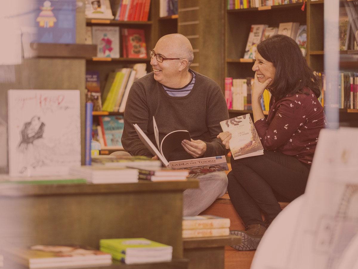 Lola y Miguel de Librería Rayuela Infancia